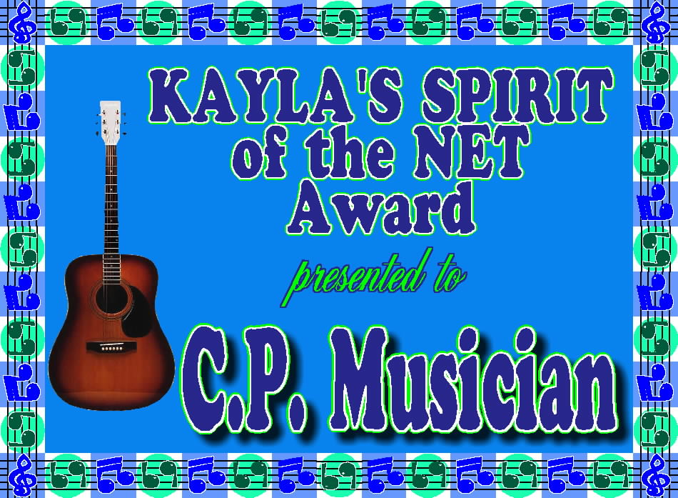 Award from Kayla